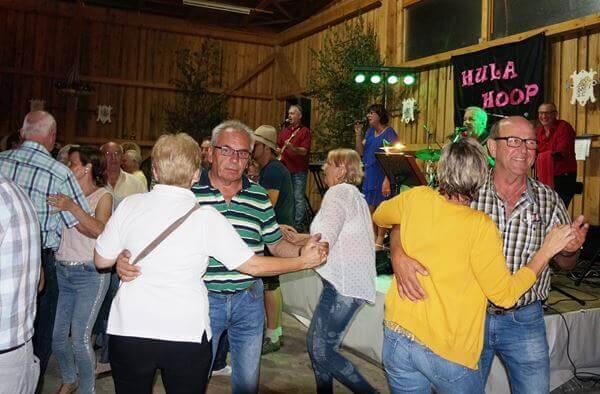 Hula Hoop ein Garant für gute Stimmung.