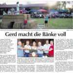 Dorffest in Viehberg - Bericht in der Amberger Zeitung