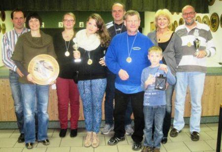 Die Gewinner des Preisschießens 2012