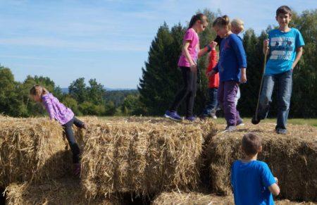 Beim Herbstfest hatte der Nachwuchs viel Spass