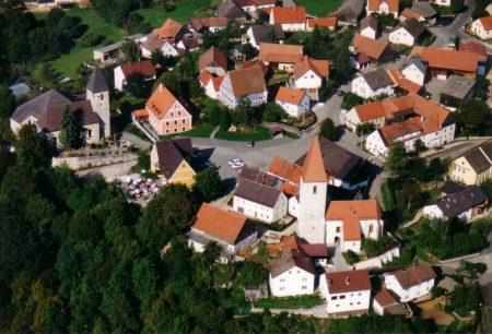 Das Zentrum der Gemeinde Ammerthal