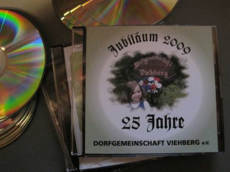 Jubiläums-CD der Dorfgemeinschaft Viehberg