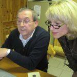 Abrechnung der erzielten Ergebnisse durch Hans Haberkorn und Doris Schmidt
