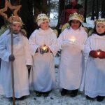 Vier Engel im Viehberger Wald. Wenn das nicht ein gutes Zeichen ist!