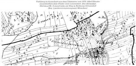 Viehberg im Jahre 1835