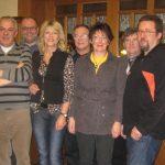 Die neu gewählte Vorstandschaft der Dorfgemeinschaft Viehberg