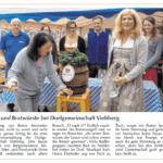 Maifest 2019 der Dorfgemeinschaft Viehberg - Bericht in der Amberger Zeitung