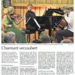 Dorffest der Dorfgemeinschaft Viehberg – Bericht in der Amberger Zeitung